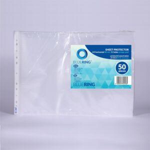 Genotherm lefűzhető, A3 fekvő 80 micron narancsos BLUERING 20 db/csomag