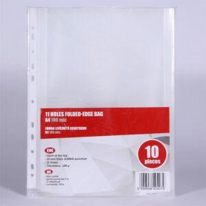 Genotherm lefűzhető, A4 100 micron jumbo REDIN 10 db/csomag