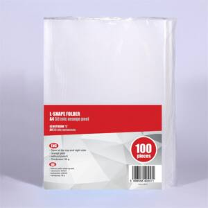 Genotherm `L` A4 50 micron narancsos REDIN 100 db
