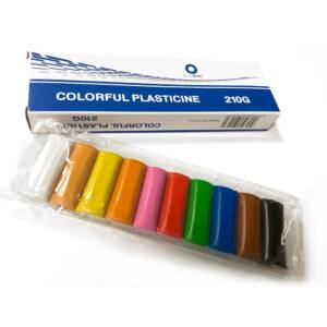 Gyurma színes 10 szín 210g BLUERING