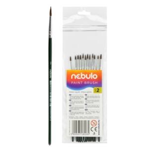 Ecset 2-es festett nyéllel 12 db NEBULO