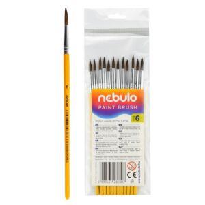 Ecset 6-os festett nyéllel 12 db NEBULO