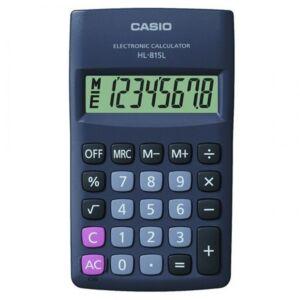Zsebszámológép 8 digit CASIO HL 815 l bk
