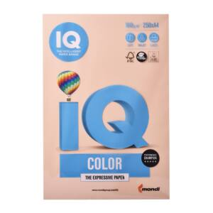 Fénymásolópapír A4 160G IQ 250ív/csomag. lazac