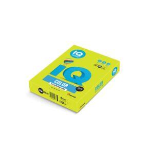 Fénymásolópapír A4 80g IQ 500ív/csomag neon zöld