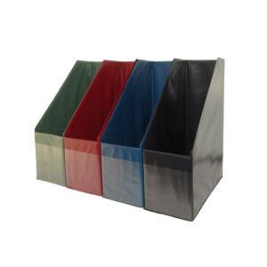 Iratpapucs 9 cm PVC fekete