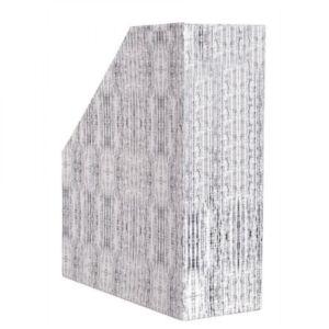 Iratpapucs karton textil 9 cm szürke BLUERING