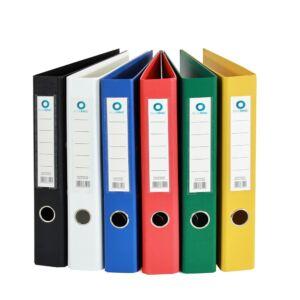 Iratrendező A4, 5 cm, két oldalt PP borítás, BLUERING Premium fekete