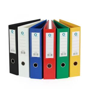Iratrendező A4, 7,5 cm, két oldalt PP borítás, BLUERING Premium fekete