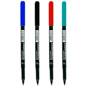 Permanent marker kerek 1 mm CENTROPEN 2536 kék