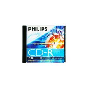 CD-R80 52X normál tokos PHILIPS