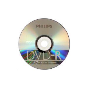 DVD-R slim tok 16X (előlapos) Philips