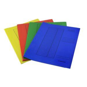 Gyorsfűző karton A4 230gr kék