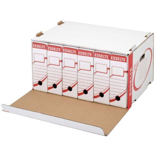 Archiváló konténer karton előre nyíló ESSELTE standard 128910