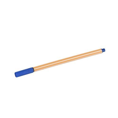 Rostirón tűfilc 0,5mm  hatszögletű test, vízbázisú BLUERING kék