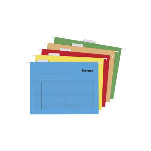 Függőmappa oldalzárt Fornax 33-V oldalzárt kék