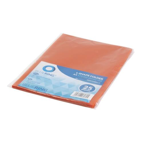 Genotherm `L` A4 120 micron piros 25 db/csom