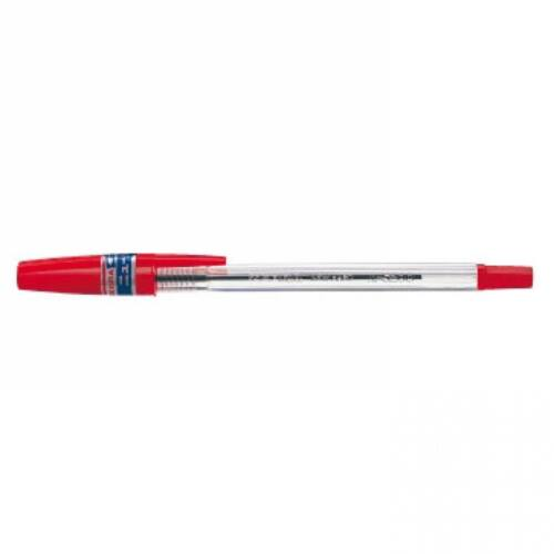 Golyóstoll 0,7mm kupakos, N5200 ZEBRA piros