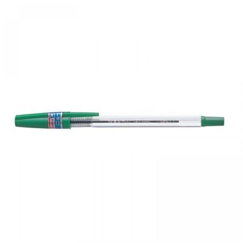 Golyóstoll 0,7mm kupakos, N5200 ZEBRA zöld