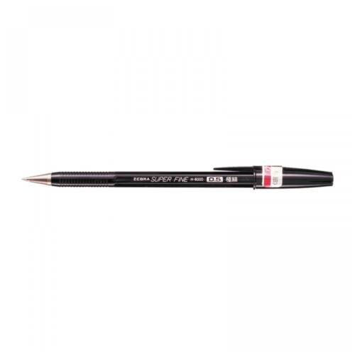 Golyóstoll 0,5mm H-8000 ZEBRA fekete