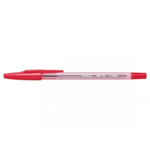 Golyóstoll 0,7mm kupakos vékony hegy PILOT BPS FINE piros