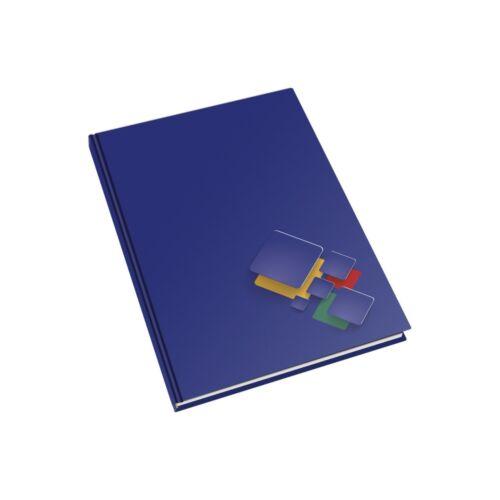 Mutató beírókönyv A4 vonalas 192lapos keményfedeles egyszínű ABC regiszteres EDUCA