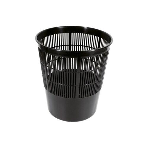 Papírkosár FORNAX műanyag rácsos, 16 literes, fekete