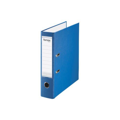 Iratrendező A4, 8 cm, FORNAX Master kék