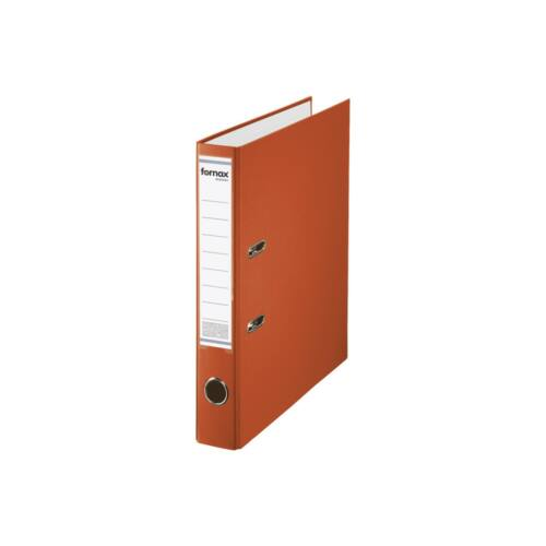 Iratrendező A4, 5,5 cm, FORNAX Master narancssárga