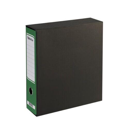 Tokos iratrendező A4, 8 cm, FOROFFICE zöld