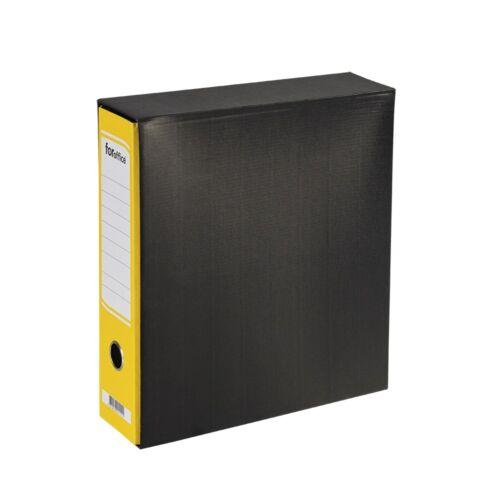Tokos iratrendező A4, 8 cm, FOROFFICE sárga