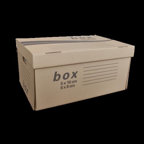 Archíváló konténer FORNAX 54x36x25,3 cm felfelé nyíló