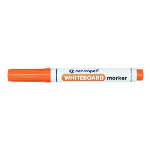 Táblamarker CENTROPEN 8559 kerek végű, 2,5 mm, narancs