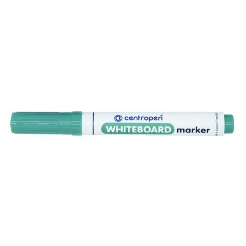 Táblamarker CENTROPEN 8559 kerek végű, 2,5 mm, zöld