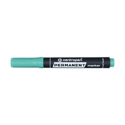 Permanent marker CENTROPEN 8576 vágott végű, 1-4,6 mm, zöld