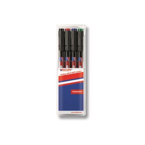 Permanent marker 140S 0,3mm EDDING 4 klt