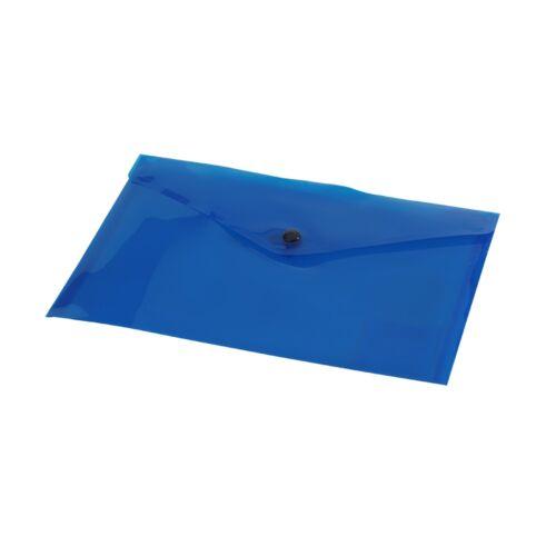 Irattartó tasak A5 PP kék patentos 1309/7400200