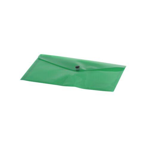 Irattartó tasak A5 PP zöld patentos 1309/7400300