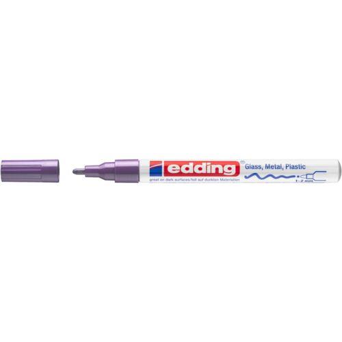 Lakkmarker 1-2mm kerek EDDING 751 lila