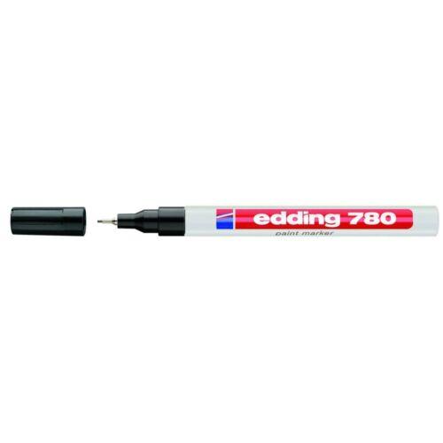 Lakkmarker 0,8mm kerek EDDING 780 fekete
