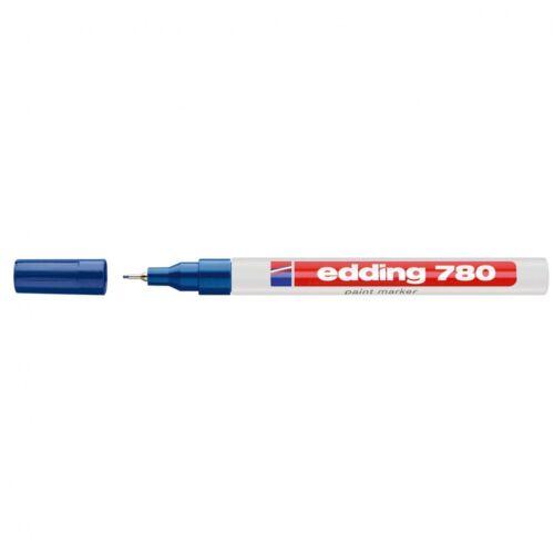 Lakkmarker 0,8mm kerek EDDING 780 kék