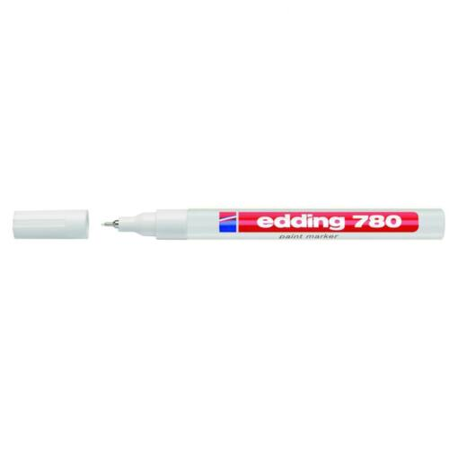 Lakkmarker 0,8mm kerek EDDING 780 fehér