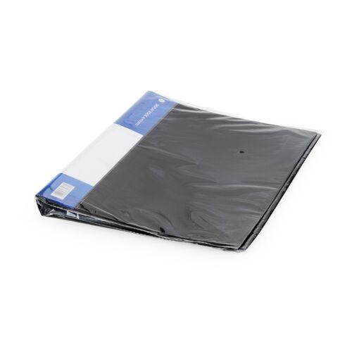 Iratvédő mappa A4 40 tasakos fekete