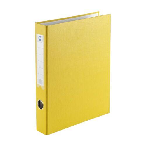 Gyűrűskönyv A4 3,5 cm 2 gyűrűs BLUERING sárga