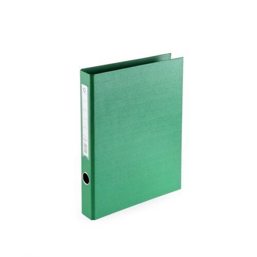Gyűrűskönyv A4 3,5 cm 2 gyűrűs PP/PP BLUERING PRÉMIUM zöld