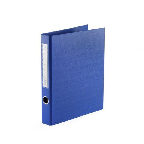 Gyűrűskönyv A4 3,5 cm 4 gyűrűs PP/PP BLUERING PRÉMIUM kék