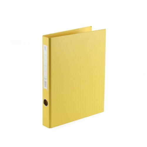 Gyűrűskönyv A4 3,5 cm 4 gyűrűs PP/PP BLUERING PRÉMIUM sárga