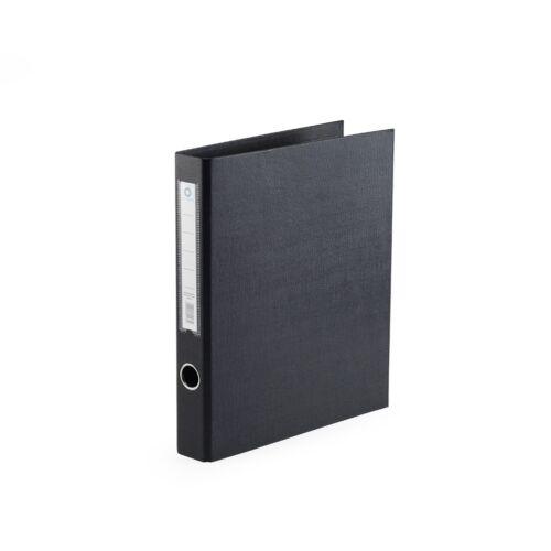 Gyűrűskönyv A4 4,5 cm 2 gyűrűs PP/PP BLUERING PRÉMIUM fekete