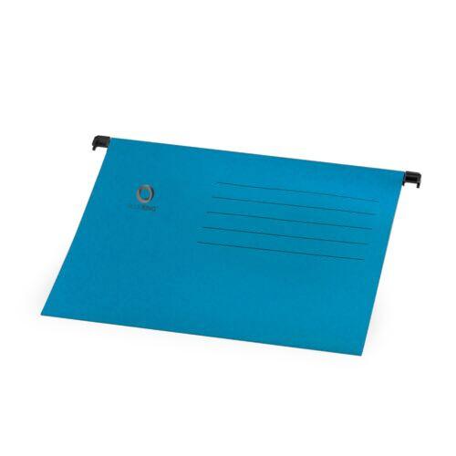 Függőmappa A4 karton kék