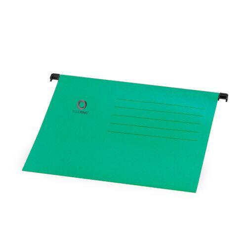 Függőmappa A4 karton zöld